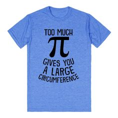 Too Much Pi. My son needs this!