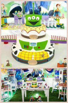 Bolo Toy Story by Ateliê de bolos da Lú