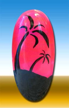 CG Summer Neons - Palm Tree Sunset