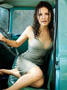 Ginnifer Goodwin - Rainy Inspiration - This would be a fun shot to recreate...find a garden hose...