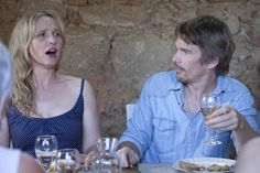 See Julie Delpy and Ethan Hawke as Jesse and Celine in Before Midnight, in theaters May Julie Delpy, 90s Movies, Cinema Movies, Film Movie, Oscar Pictures, Before Trilogy, Oscar Photo, Greek Tragedy, Ethan Hawke