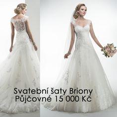 Svatební šaty Briony. Přijďte si je vyzkoušet do salonu Maggie