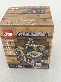 All SOLD out Lego Minecraft The Village 21105 Micro World Building Toy