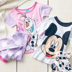 Make them smile with Disney PJ sets.