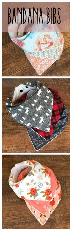 Breathable Bandana Bibs. Perfect for your drooling baby!