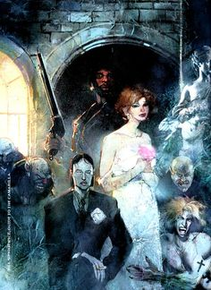 White Wolf, World of Darkness, Bill Sienkiewicz.