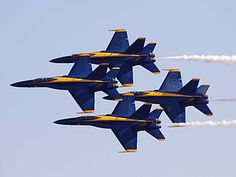watching a Blue Angels Air Show