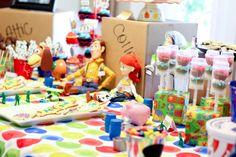 Toy Story dessert table #toystory #birthday #desserttable