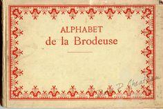 Gallery.ru / Фото #1 - Alphabet de la  Brodeuse - Dora2012