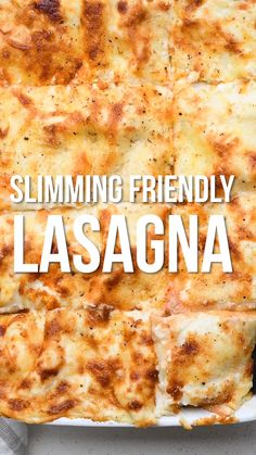 A lightened up Slimming Lasagne recipe – lower in calories but absolutely packed with flavour! You will love the rich beef sauce layered with pasta and a light Béchamel sauce. Slimming World Meal Prep, Slimming World Lasagne, Slimming World Recipes Syn Free, Slimming World Breakfast, Slimming Eats, Delicious Dinner Recipes, Healthy Breakfast Recipes, Healthy Recipes, Lasagne Recipes