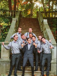Hipster wedding party =)
