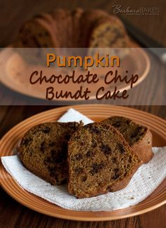 Pumpkin Chocolate Chip Bundt Cake by Barbara Bakes