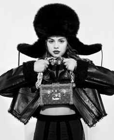Selena Gomez for Louis Vuitton Fall/Winter 2016 Photographed by Bruce Weber