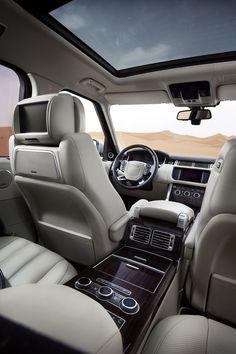 Range Rover Interior  #2017 #supercar