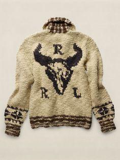Wool Shawl-Collar Cardigan - RRL Cardigan & Full-Zip - RalphLauren.com