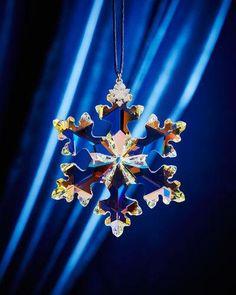 H8HR3 Swarovski 25th Anniversary Limited Edition Snowflake Christmas Ornament