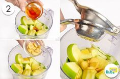 blend in sweet and sour to detox your body
