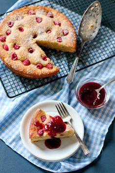 Lemon-Raspberry Coffeecake