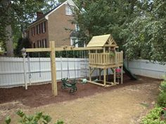 Backyard Playground | Hand Crafted Wooden Playsets - Gallery