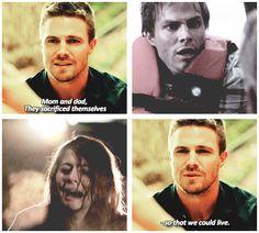 Arrow - Oliver Queen #3.3 #Season3
