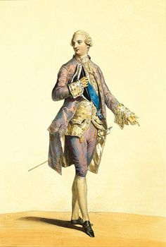 The Young king Louis xvi of France and Navarra