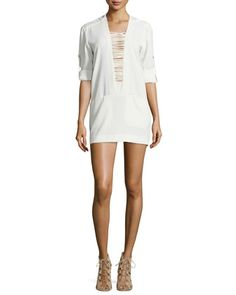 Odriane Ladder-Front Dress by IRO at Neiman Marcus.