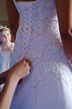Mori Lee '2105' size 4 used wedding dress - Nearly Newlywed