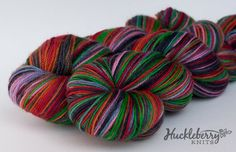Handpainted sock yarn INKED on BlueFaced by huckleberryknits, $24.00  LOVE!
