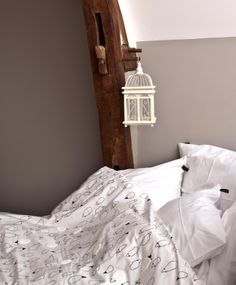 "Couette ""Compte les moutons"" pour les petits insomniaques. Duvet cover :  ""Counts the sheep"" for the young insomniacs."
