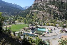 """""""Situated in the San Juan Mountains of Southwest Colorado, Ouray Colorado is a true gem of the Rocky Mountain Region. Referred to as the """"Switze. Colorado City, Durango Colorado, Day Trips Near Me, Great Places, Places To Visit, City Pages, Denver City, San Juan Mountains, Staycation"""