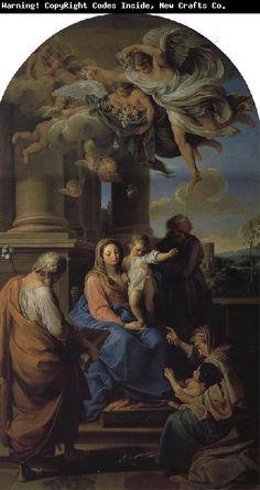 Pompeo Batoni Holy Family with St. Elizabeth, Zechariah http://www.xiamenoilpainting.com/upload1/file-admin/images/new20/Pompeo%20Batoni-594389.jpg