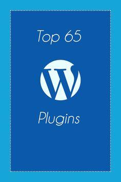 Top 65 WordPress Plugins