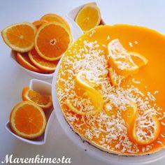 Deserts, Baking, Orange, Fruit, Sweet, Recipes, Food, Candy, Bakken