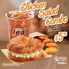 Un combo que está para chuparse los dedos.#Chickensalad #combo