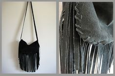 I have been thinking I want to make a fringed purse for music festivals this summer, this one is perfect.
