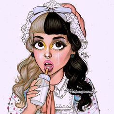 Image about goals in Melanie Martinez💟 by Salo ♛ ♡ Martina Martinez, Adele, Melanie Martinez Drawings, Crybaby Melanie Martinez, Sending Love And Light, Lyric Tattoos, Arte Disney, People Illustration, Cry Baby