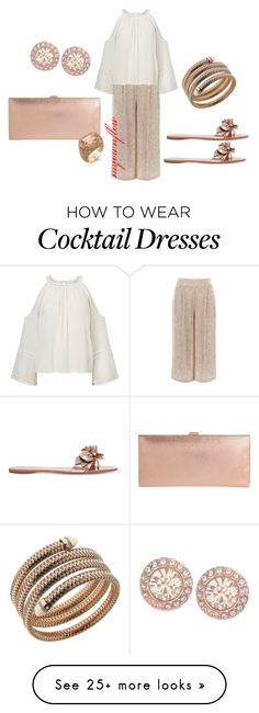 """SUMMER DRESS UP"" by myownflow on Polyvore featuring Temperley London, Miss Selfridge, Sophia Webster, Lodis, Givenchy, Roberto Coin and Walters Faith"