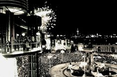 New Year's Eve in Barcelona. Photo by Luisa