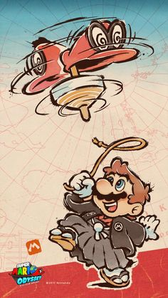 Nintendo is celebrating the start of 2018 with a few new images. Above, we have some special New Year's art for ARMS. You can also find a new Super Mario Odyssey-themed January wallpaper and calendar below. Super Mario Brothers, Super Mario Bros, Super Smash Bros, Mario Kart, Mario E Luigi, Lil Durk, Wallpaper Nintendo, Deco Gamer, Mario And Princess Peach