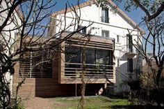 extension bois : Sandro Munari Architecte & Urbaniste