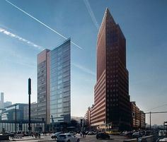 Kollhoff-tower Potsdamer Platz