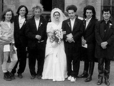 Robert Smith (The Cure) & wife Mary