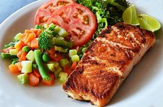 This is a wonderful way to prepare fresh dijon salmon fillets in the oven. Be sure to make extra, your family will be begging for more! Dijon Salmon, Fish Recipes, Healthy Recipes, Get Shredded, Dieta Paleo, Salmon Fillets, Clean Eating, Dinner Recipes, Pork
