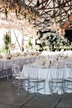 WedLuxe– The Bride Wore Romona Keveza at this Evergreen Brick Works Wedding | Photography By: 5ive15ifteen Photo Company Follow @WedLuxe for more wedding inspiration!