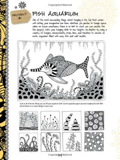 The Art of Zentangle: 50 Inspiring Drawings, Designs & Ideas for the Meditative Artist: Amazon.fr: Margaret Bremner, Norma J. Burnell, Penny...