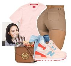 """""""‼️"""" by crowned-ivy ❤ liked on Polyvore featuring New Balance"""