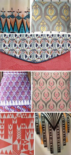 Patti, this is inspiration for you if you wanna do a print!! :) ....Art deco street patterns