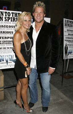 Chris Jericho and his wife Jessica