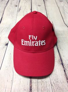 855fc43b0e7 Fly Emirates New with Tag Men s Red Cap Hat  fashion  clothing  shoes · Caps  HatsBaseball ...