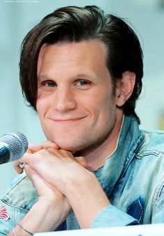 Matt-Look at that face! He's just like a wittle puppy :3